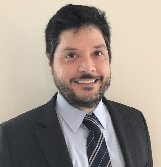 Portrait of Peter Sazani, PhD, Chief Development Officer of Enzerna Biosciences Inc.